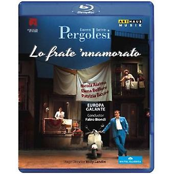 G.B. Pergolesi - Lo Frate Nnamorato [BLU-RAY] USA import