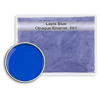 Bezołowiowy nieprzezroczysty szkliwo Lapis Niebieski, 667, 25gm
