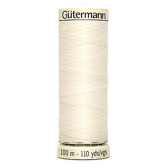 Gutermann Sew-all 100% Polyester Thread 100m Hand and Machine Colour Code  - 1