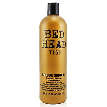 Bed head colour goddess oil infused conditioner for coloured hair (cap) 248487 750ml/25.36oz