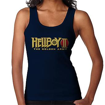Hellboy II The Golden Army Logo Women's Vest