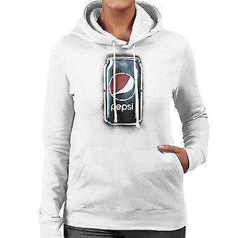 Pepsi Graffiti Can Women's Hooded Sweatshirt