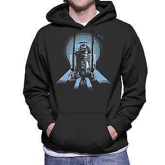 Star Wars R2D2 Bold Astromech Droid Men's Hooded Sweatshirt
