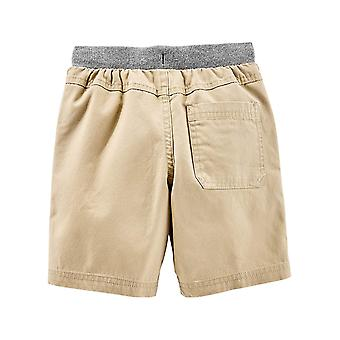 Simple Joys by Carter's Baby Boys' Toddler 2-Pack Shorts, Khaki, Navy, 3T