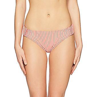 Brand - Mae Women's Swimwear First Mate Smocked Bikini Bottom (for A-C...