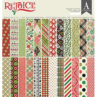Authentique Rejoice 12x12 Inch Pad