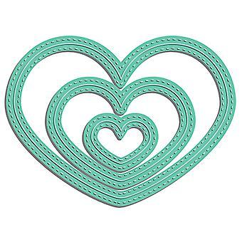 LDRS Creative Stitched Heart Dies