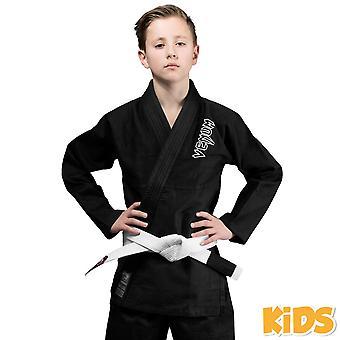 VM contendor crianças Jiu-Jitsu Gi preto