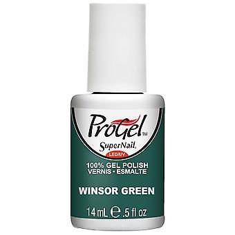 SuperNail ProGel Gel Nail Polonais - Winsor Green 14ml