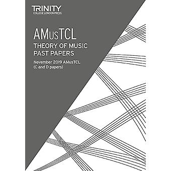 Trinity College London Theory Past Papers Nov 2019 AMusTCL by College London & Trinity