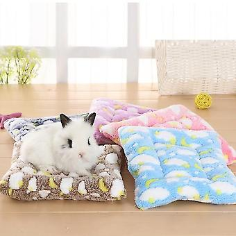 Small Animal Guinea Pig Hamster Bed House Winter Warm Squirrel Hedgehog Rabbit Chinchilla Bed Mat Nest Hamster Accessories