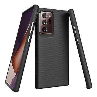 For Samsung Galaxy Note 20 Ultra Armour Case Tough Protective Cover Black