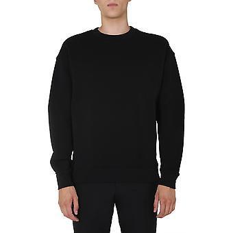 Moschino 171952270555 Männer's schwarze Baumwolle Sweatshirt