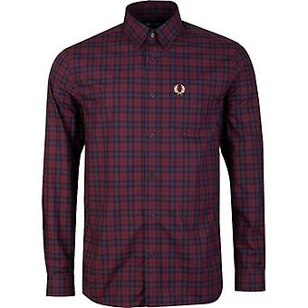 Fred Perry Authentics Winter Long Sleeved Tartan Shirt