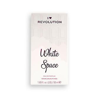 Makeup Revolution I Heart Revolution 50 ml Edp - White Space