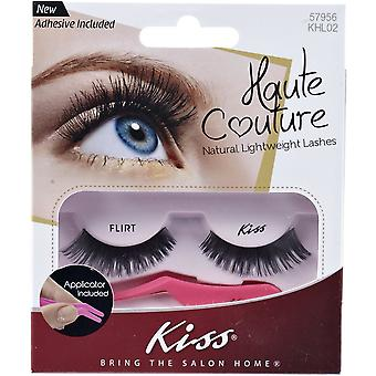 Kiss Haute Couture Everyday False Eyelashes - Flirt - Glue & Applicator Included