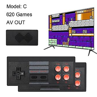 USB Wireless Handheld TV Videospiel - Konsole Build In 568 classic 8 Bit Mini-Konsole
