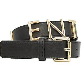 Mario Valentino Emma Winter Wide Text Logo Belt