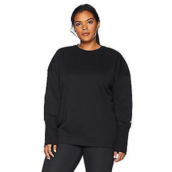 Brand - Core 10 Women's Plus Size Motion Tech Fleece Relaxed Fit Long ...
