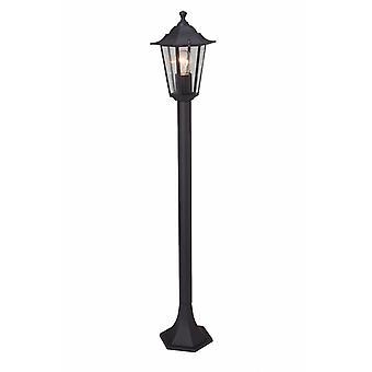 BRILLIANT Lampe Crown Außenstandleuchte schwarz | 1x A60, E27, 60W, geeignet für Normallampen (nicht enthalten) | Skala