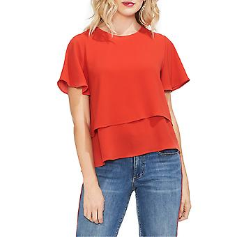 Vince Camuto | Flutter Tiered Top