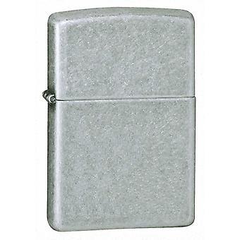 Zippo Antique Silver Plate Lighter -