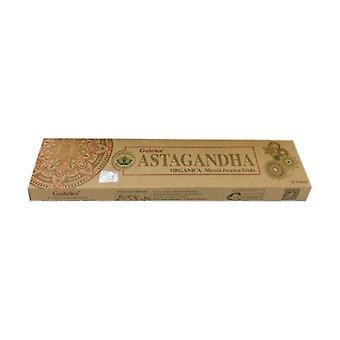 Goloka Organic Astaghand Incense 15 g