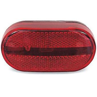 Optronics MC31-RS Oblong Clearance Light Red