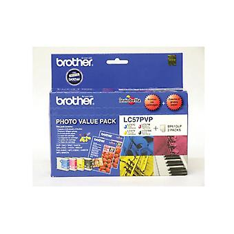 Brother Lc57Pvp Photo Value Pack