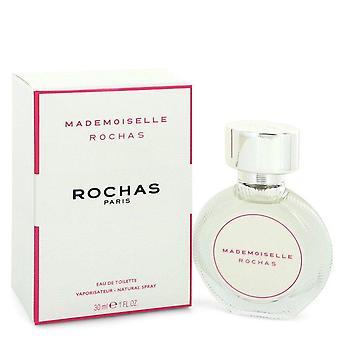 Mademoiselle rochas eau de toilette spray por rochas 551771 30 ml