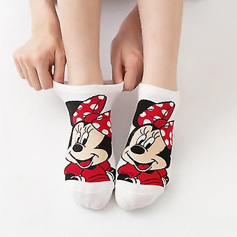 Mickey Cute Cartoon, Sweet Cotton Socks - Spring And Summer Wild Short Tube