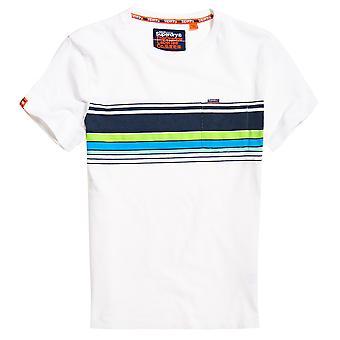 Superdry OL Cali Chestband Pocket T-Shirt - Optic
