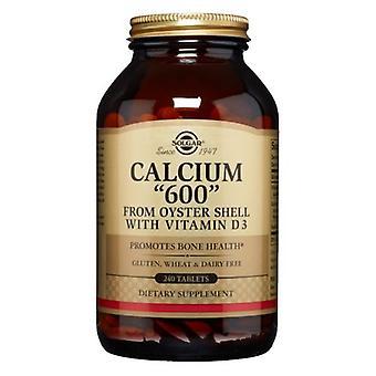 Solgar Calcium 600, 240 Tabs