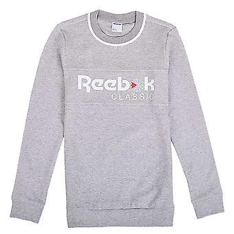 リーボックアイコニッククルーBP8290ユニバーサルオールイヤーレディーススウェットシャツ