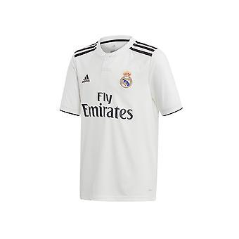 Adidas JR Real Madryt Home CG0554 football all year boy t-shirt