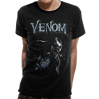 Venom Adults Unisex Adults Venom Profile T-Shirt