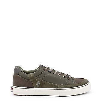 Us polo assn. 4123w8 men's synthetic suede sneakers