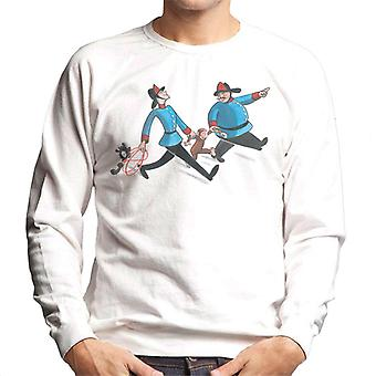 Curieux George Fire Department Men's Sweatshirt