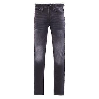 Denham Razor Denim Washed Black Slim Fit Jeans