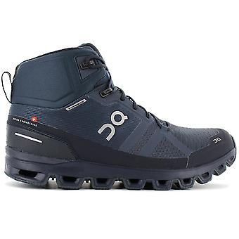 ON Running Cloudrock Waterproof - Men's Hiking Shoes Navy Blue 23.99754 Sneakers Sports Shoes