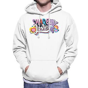 Care Bears Unlock The Magic Share Love Men's Hooded Sweatshirt