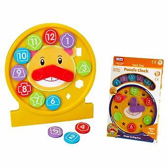 Puzzle Clock Educational Shape Sorter Toy