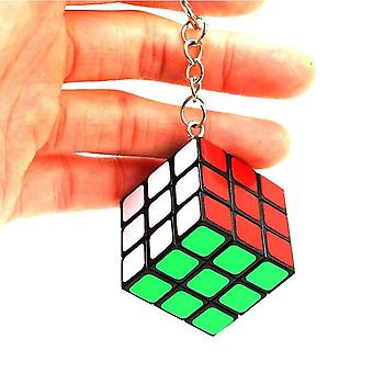 Mini avainnippu Magic Cube Puzzle Lelu