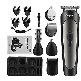 6 In 1 hair clippers electric beard nose ear trimmer