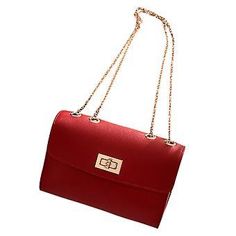 Ladies Shoulder Small Luxury Clutch Belt Leather Bag