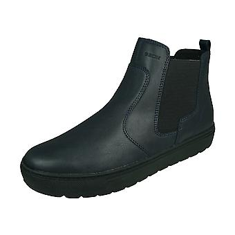 Geox D Breeda A Womens Ankle Boots - Navy Blue