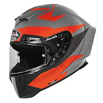 Airoh GP550S Vektor Orange Full Face Motorcycle Helmet Orange