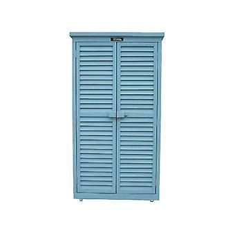 Armario para jardon 'spazio'quot; - 87 x 46,5 x 160 cm - Azul cielo