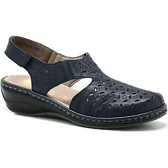 Rieker pazifik blu sandali donne blu 001