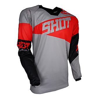 Shot Contact Infinite Red Adults MX Jersey